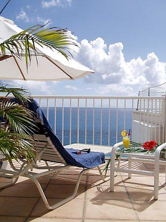 Sapphire Beach Club Resort : Penthouse View