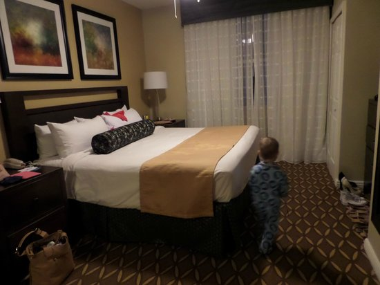 one of the bedrooms in two bed apartment picture of wyndham grand rh tripadvisor com