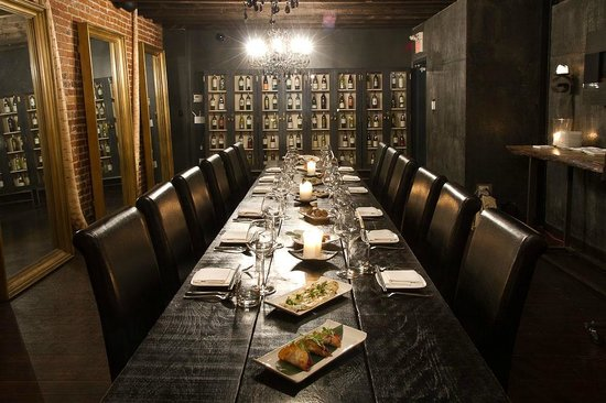 3rd floor private dining room picture of kultura for Best private dining rooms toronto