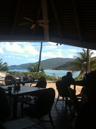 The Pavillion at Little Dix Bay: amazing views