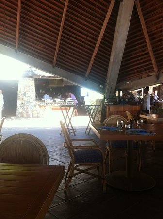 The Pavillion at Little Dix Bay: great buffet