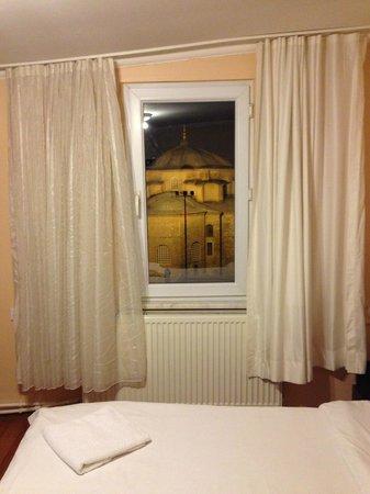 Siesta Hotel: Вид из окна номер 401