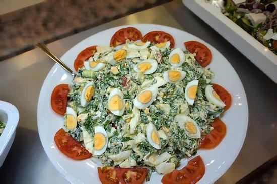 Majestic Spa Hotel: salad