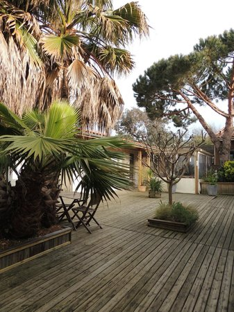 L Oceane Chambres D Hotes: Terrasse