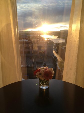 Magnolia Hotel And Spa: Sunset from 7th floor room