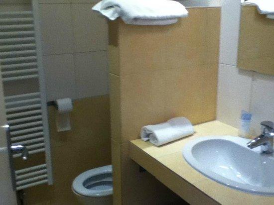 Hotel le Sherpa : salle de bain