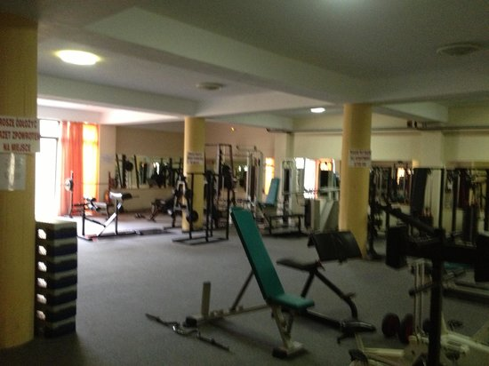 Solimar Aquamarine Hotel: Fantastic gym in basement October 2012