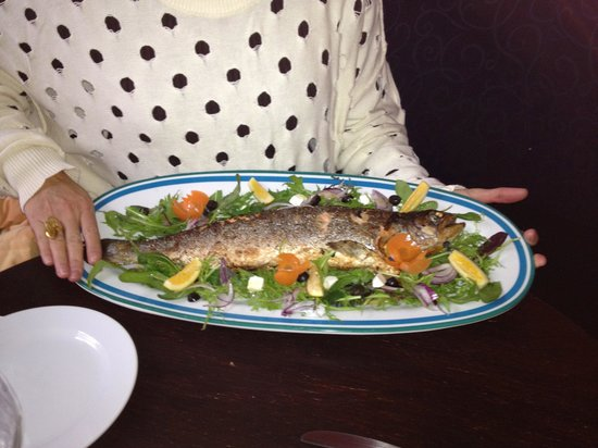 Waipuna Hotel & Conference Centre: Nice fish
