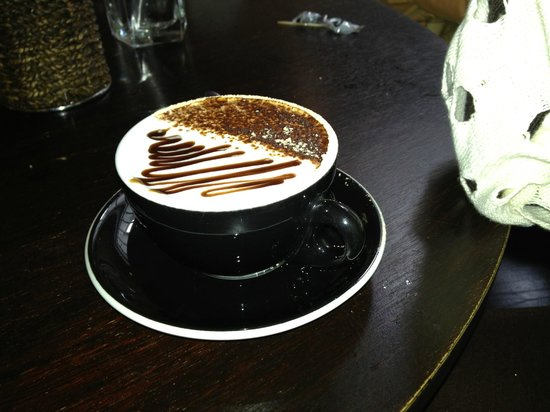 Waipuna Hotel & Conference Centre : Nice coffee
