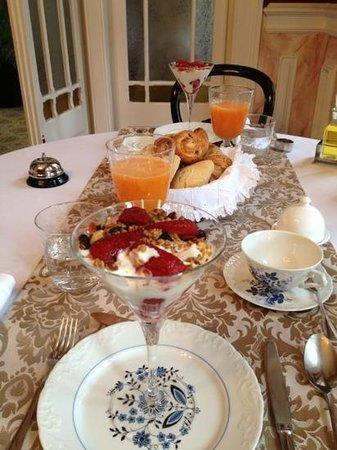 Palacete Chafariz D'El Rei: Frukost