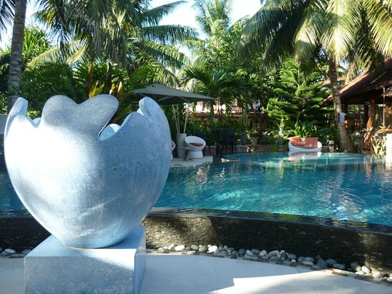 Le Duc de Praslin: piscine