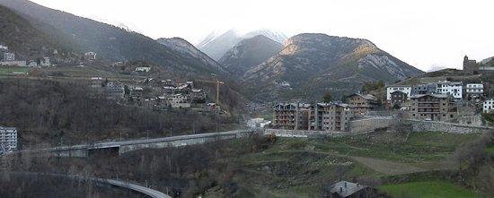 Aparthotel AnyosPark: Buena vista desde la terraza