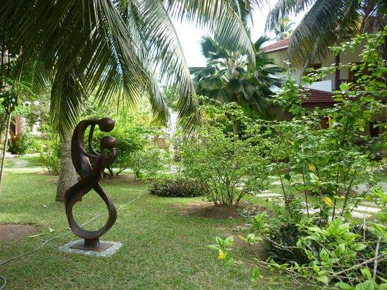 Le Duc de Praslin: un jardin luxuriant