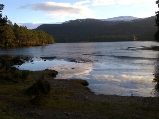 The Old Minister's House: Loch An Eilein January 2013