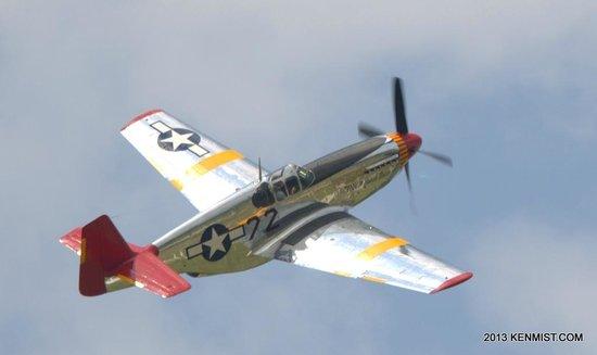 Fantasy of Flight: Vintage P-51 Mustang flown by the museum owner , Kermit Weeks