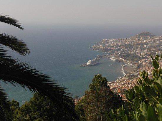 Palheiro Golf: View over Funchal