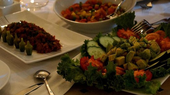 Riad Shanima & Spa: Salades Marocaines
