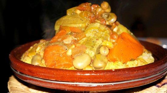Riad Shanima & Spa: Couscous