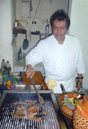 Chenandos Restaurant: fern at the grill
