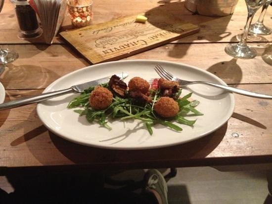 Samphire: pork balls, delicious!