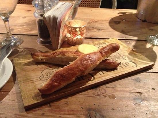 Samphire: amazing bread sticks