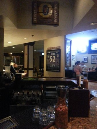"""Sheraton Inner Harbor Hotel: """"Orioles Restaurant/Bar"""" inside hotel"""