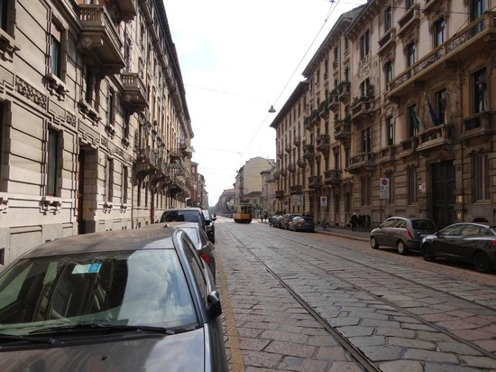 Ariosto Hotel : The street of the hotel