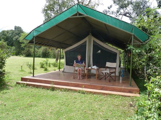 Governor's Camp Day Tours: Glamping at Governors Camp, Masai Mara