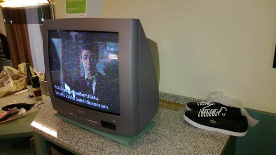 Scandic Rosendahl : tv,with crappy picture