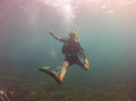 Crystal Dive Resort: дайверы прикалываются