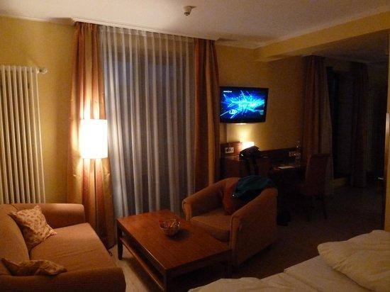 Golden Leaf Parkhotel im Lehel: Unser Zimmer