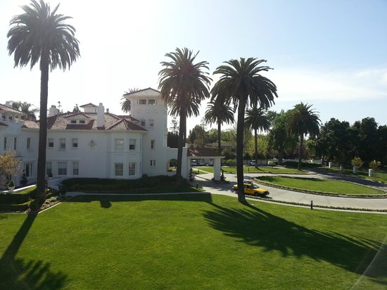 Dolce Hayes Mansion: View from our private balcony.