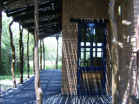 Baobab Ridge: entrance to accomadation