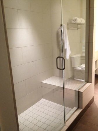 Hotel Parq Central: Large Walk-In Shower