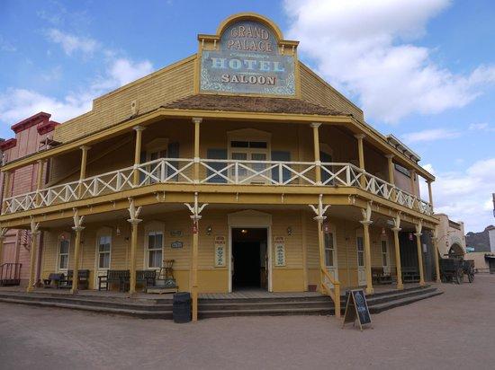 Old Tucson Hotel Saloon
