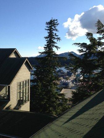 Cape Fox Lodge : Mountian & Ocean View