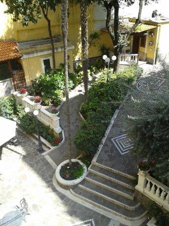 Villa San Lorenzo Maria Hotel: terrasse