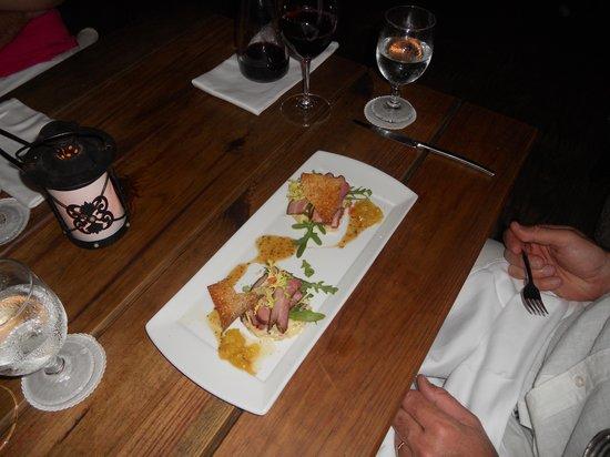 Papillon Restaurant: Pork Belly App