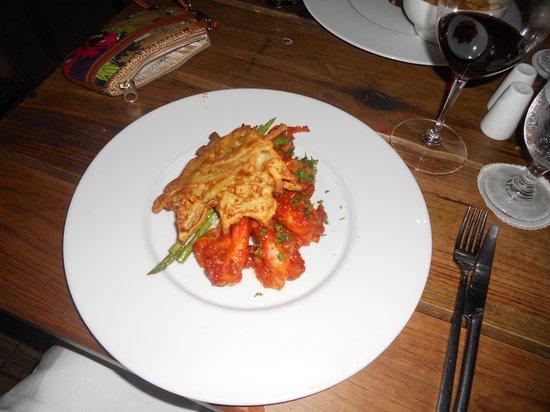 Papillon Restaurant: Shrimp Entree