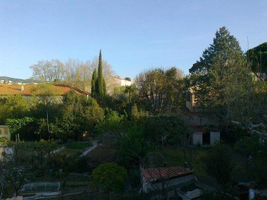 Hotel les Lavandes : Gartensicht