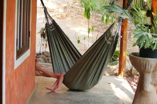 Pachamama Tropical Garden Lodge: Hammock
