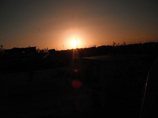 Riad Tajpa : Sonnenuntergang Dachterasse