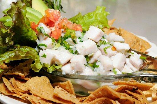 Pavillion Restaurant: Fresh ceviche