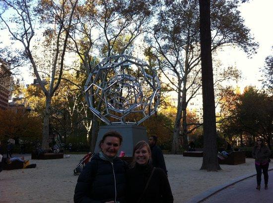 German/English Tours of New York City: Karin Bratone: Mit Karin unterwegs