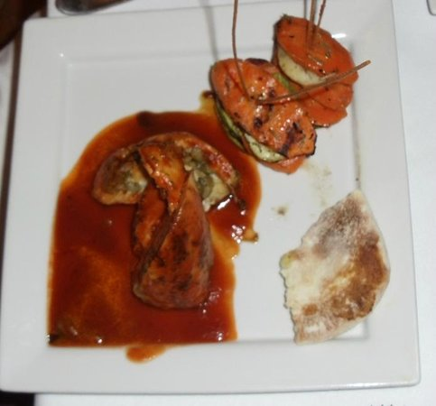 Jerusalem Kosher Store and Restaurant : The olive stuffed chicken - they also have mushroom stutffed chicken