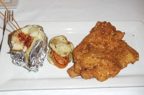 Jerusalem Kosher Store and Restaurant : Chicken snitzel