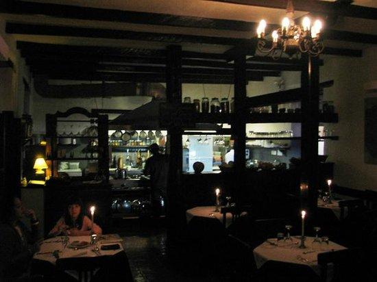 El Albergue Ollantaytambo: Restaurante El Albergue - Excelente atmósfera