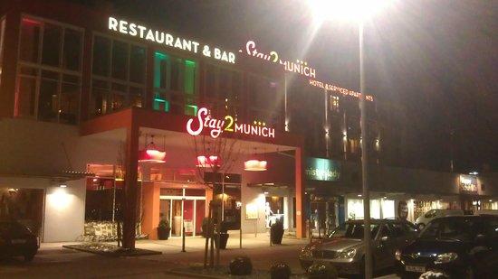 Stay2Munich Hotel & Serviced Apartments: Nachtansicht