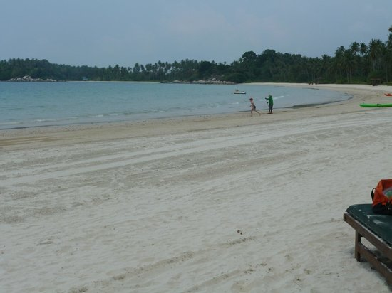 Angsana Bintan: The beach - which was constantly being cleaned
