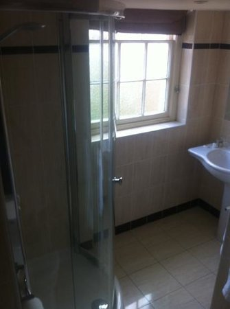 The Eastbury Hotel : separate bathroom with shower